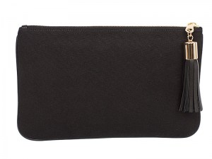 Black Canvas Pouch